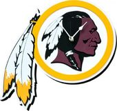 Football - Washington Redskins - 3D Foam Wall