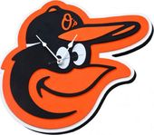 Baltimore Orioles - 3D Foam Wall Clock