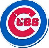 Chicago Cubs - 3D Foam Wall Clock