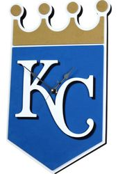 Kansas City Royals - 3D Foam Wall Clock