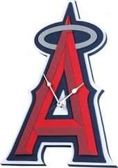 Los Angeles Angels - 3D Foam Wall Clock