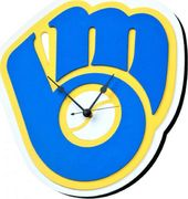 Milwaukee Brewers - 3D Foam Wall Clock