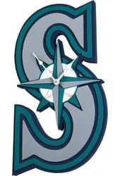 Seattle Mariners - 3D Foam Wall Clock