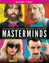 Masterminds (Blu-ray + DVD)