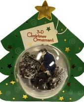 "Elvis Presley - Christmas Ornament 3D ""Live in"