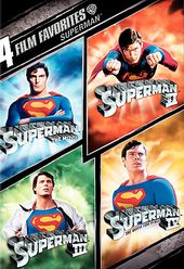 Superman - 4 Film Favorites (Superman: The Movie