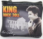 Elvis Presley - Coin Purse King Of Rock'n Roll