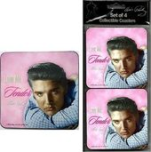 Elvis Presley - Coaster Set Love Me Tender