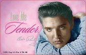 Elvis Presley - Playing Cards Love Me Tender