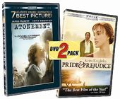 Atonement / Pride & Prejudice (2-DVD)