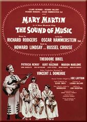 "Sound Of Music - Red Photo Magnet 2 1/2"" x 3 1/2"""