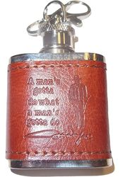 John Wayne - Flask - Key Chain