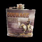 John Wayne - Courage - Flask