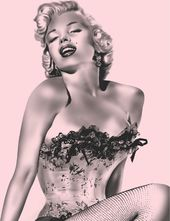 Marilyn Monroe - Fishnet - Blanket Plush