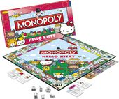 Hello Kitty - Monopoly Board Game