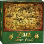 Legend of Zelda - Hyrule Map - Puzzle