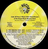 "We Bring You Joy (2 Ver)/Holidays (2 Ver) (12"")"