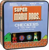 Super Mario Brothers - Checkers & Tic-Tac-Toe