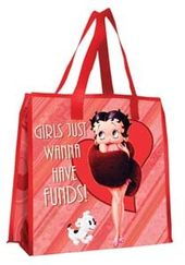 Betty Boop - Large Recycled Shopper