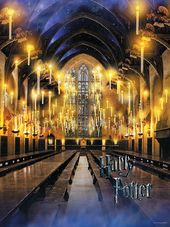 Harry Potter - Hogwarts Great Hall Puzzle