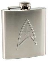 Star Trek - 6 oz. Stainless Steel Flask