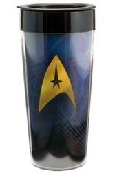 Star Trek - Warp Speed: 16 oz. Plastic Travel Mug