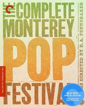 The Complete Monterey Pop Festival (Blu-ray,