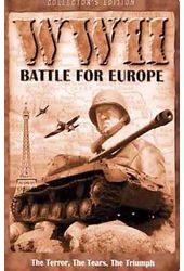 WW II: Battle for Europe (5-DVD - Collector's Tin