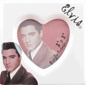 Elvis Presley - Heart - Mini Photo Frame