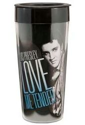 Love Me Tender - 16 oz. Plastic Travel Mug