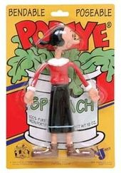 "Popeye - Olive Oyl 7"" Bendable Figure"