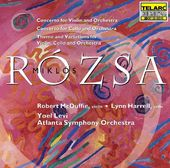 Rozsa: Concerto for Cello Op. 32, Concerto for
