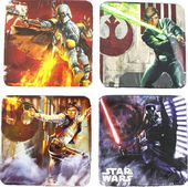 Star Wars - 4 Piece Wood Coaster Set