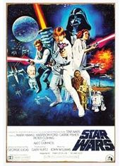 Star Wars - A New Hope: Heavy Gauge Metal Sign