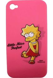 The Simpsons - iPhone 4s Snap On Cover Lisa