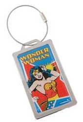 DC Comics - Wonder Woman - Metal Luggage Tag
