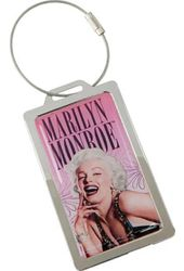 Marilyn Monroe - Metal Luggage Tag