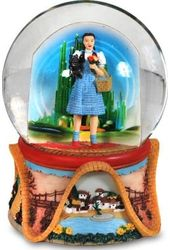 Wizard of Oz - Dorothy Land Of Oz - Water Globe