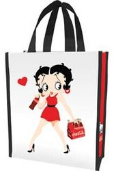 Betty Boop / Coke - Small Recycled Shopper