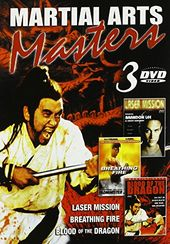 Martial Arts Masters (3-DVD)