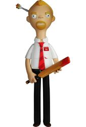 Shaun of the Dead - Shaun - Vinyl Idolz Toy Figure
