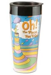 Oh The Places You'll Go! - 16 oz. Plastic Travel