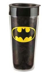 DC Comics - Batman - Logo - 16 oz. Plastic Travel