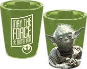 Star Wars - Yoda: Green Ceramic Shot Glass