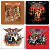 Aerosmith - 4-Piece Wood Coaster Set