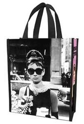 Audrey Hepburn - Small Recycled Shopper