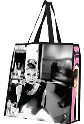 Audrey Hepburn - Large Recycled Shopper Tote