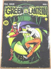 DC Comics - Green Lantern - Comic Book - Tin Sign