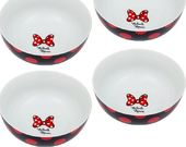 Disney - Minnie Mouse - Ceramic Bowl 4pc Set