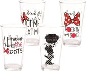 Disney - Minnie Mouse - Pint Glass 4pc Set